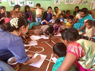 Educando en Kanganahalli