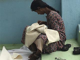 Formando a las mujeres en Kanganahalli